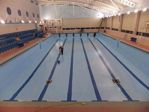 Loughborough leisure centre pools to reopen - Loughborough university swimming pool ...