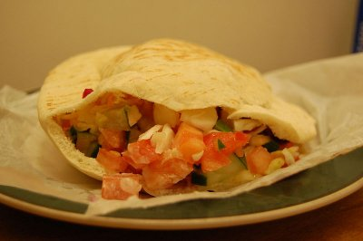 Great Nosh for Little Dosh: Moroccan Style Chicken Shawarma