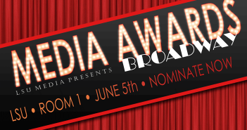 Nominate now for the LSU Media Awards