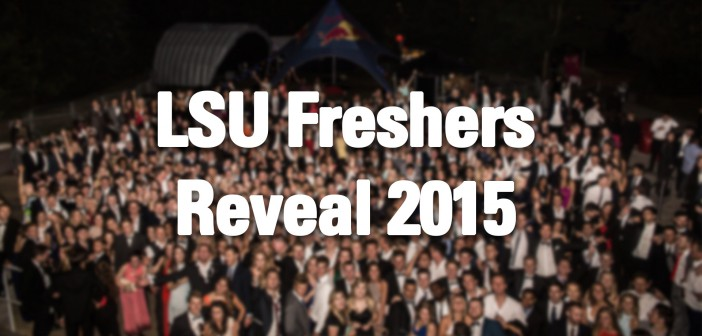 LSU Freshers Reveal 2015