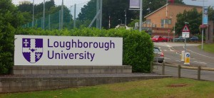 Loughborough sign uni new logo Ryan Andrews
