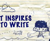 What Inspires Me to Write?