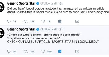 Social Media Sounds the Alarms on Certain Sports Stars