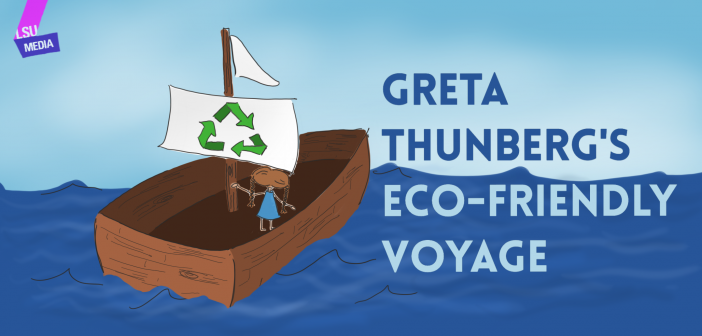 Greta Thunberg's Eco-Friendly Voyage