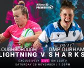 LIVE Allianz Premier 15s: Loughborough Lightning v DMP Durham Sharks