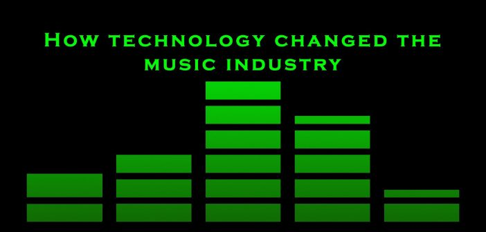 How Technology Revolutionised the Music Industry