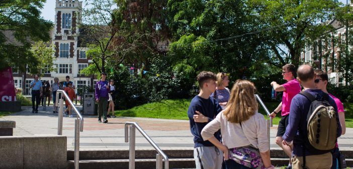 Resuming of Campus Tours & the Re-Opening of Pilkington Library