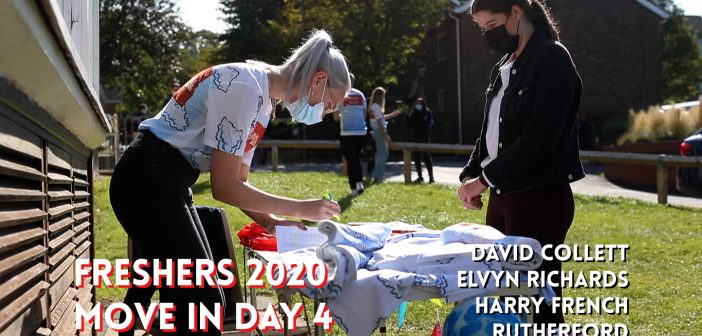 Move In Day 4 | Freshers 2020