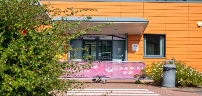 The outside of the Loughborough Swimming Pool