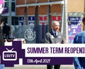 Returning for the Summer Term | Newsflash