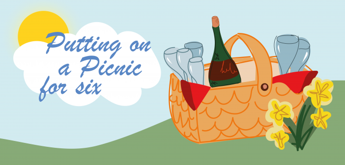 Spring has Sprung: Your Guide to Putting on a Picnic for Six